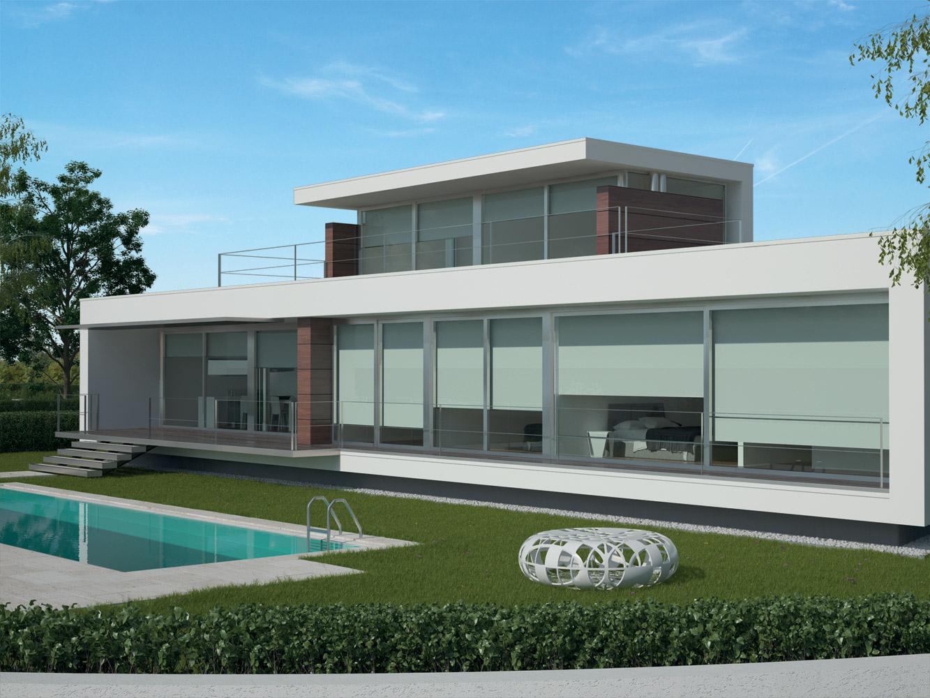 Progetto soleis for residence ville appartamenti for Piani immobiliari moderni