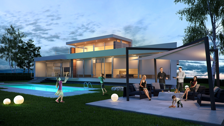 Case Moderne Ad Un Piano : Case moderne ad un piano dove ubicare il locale termico nelle